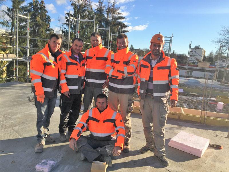 Baufirma, Team, FONDAJ Hoch- und Tiefbau GmbH